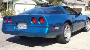 1990 chevy corvette quasar blue z51 6 speed 50k mile 1990 chevrolet corvette bring