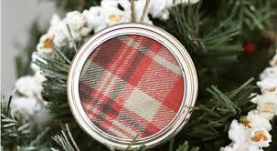 plaid jar lid ornament inspiration hoosier