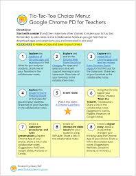 interactive learning menus choice boards using google docs