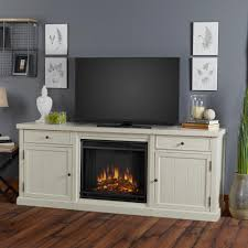 White Entertainment Center For Bedroom Cassidy 69 In Entertainment Center Electric Fireplace In