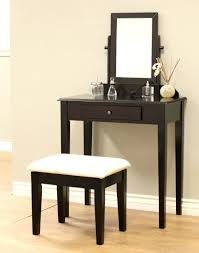 Wood Vanity Table Frenchi Furniture Wood 3 Pc Vanity Set In Espresso
