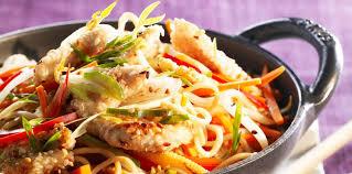 recette cuisine wok wok de poulet aux légumes facile et pas cher recette sur