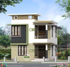 simple square house plans neat and simple small house plan kerala home design and floor