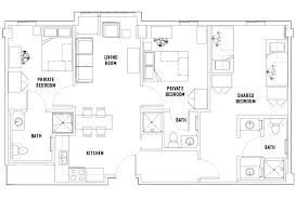 floor plans university centre student housing newark nj