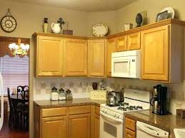 Top Of Kitchen Cabinet Decor Ideas Above The Cabinet Decor Above Kitchen Cabinet Decor Ideas