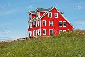 saltbox style home new salt box style house in english harbour newfoundland canada