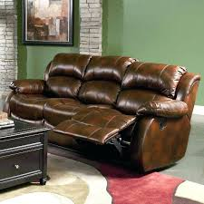 Reclining Sofa Set Brown Leather Reclining Sofa Wojcicki Me