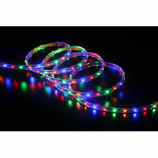 Colored Christmas Lights by Holiday Time 19 6 U0027 Led Multi Colored Light 240 Count