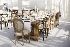 wedding tables and chairs reception décor photos wood table and chairs inside weddings