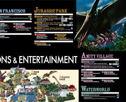 Universal Islands Of Adventure Map Studio Map Universal Studios Japan Usj