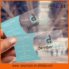 clear buisness cards photography business cards clear transparent plastic card buy