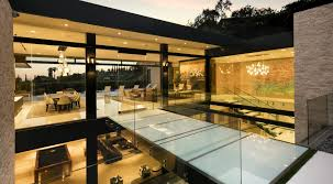 Modern Style Luxury Villa Exterior Los Angeles Architect House Design Mcclean Design