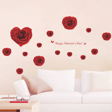 home decor love 061 rose love valentine u0027s day new married couple living room