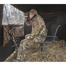 Comfortable Swivel Chair Bolderton 360 Comfort Swivel Hunting Blind Chair With Armrests