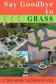 Grass For Backyard Ideas Goodbye Grass 7 Inspiring Ideas For A