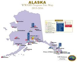 Alaska Map by About The Wwami Program Wwami Of Medical Education