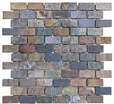 About Our Tumbled Stone Tile Multi Color Slate Soho Tiles Marble And Stone Vaughan U0026 Toronto