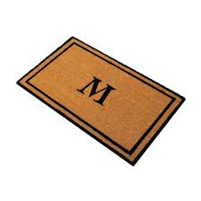 Wipe Your Paws Coir Coco Coir Doormat Kempf Natural Coco Coir Doormat 18 By 30 By 1inch
