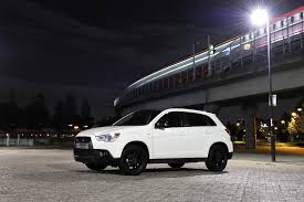 mitsubishi asx 2015 black mitsubishi asx black special edition in the uk automotorblog