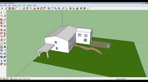 Sketchup by Google Sketchup Tutorial 10 Making A Garden Paths And Patio