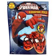 disney marvel ultimate spider man cookie kit asda groceries
