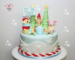 my tigger christmas theme birthday cake for a 1 year old celebrant