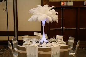 Ostrich Feather Centerpiece Ostrich Feathers Centerpieces Sweet Centerpieces