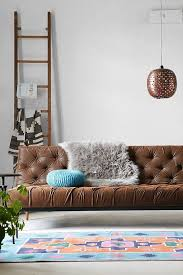Convertible Leather Sofa by Best 25 Faux Leather Sofa Ideas On Pinterest Sofa And Loveseat