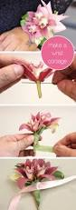 How To Make A Corsage Wristlet Prom And Wedding Seasons Are Upon Us Make Your Own Wrist Corsage
