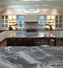 Beach House Kitchens Pinterest by This Stunning U0027blue De Savoie U0027 Marble Countertop Is The Focal