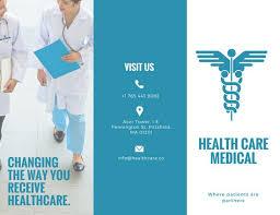 healthcare brochure templates free customize 56 brochure templates canva