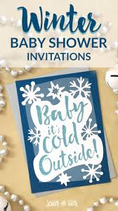 winter baby shower winter baby shower invitations scratch and stitch