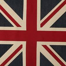 British Upholstery Fabric Union Jack Fabric Ebay