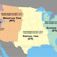 us map with state abbreviations and time zones map of states in united states map of the states in united states