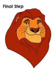 How To Draw Mufasa Mufasa King