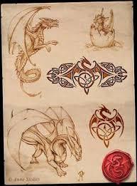 dreamies de 1qfmobhnv0y gif tattoos pinterest drachen
