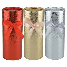 wrapped gift boxes foil wrapped gift boxes slide on lids 8 25 in 1 buy