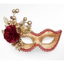 mascarade mask autumn themed burgundy and gold masquerade mask venetian style