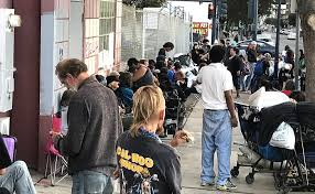 san diego nonprofit gives homeless thanksgiving meals haircuts kpbs