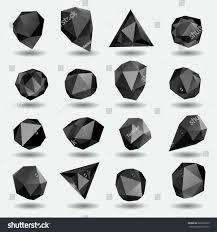black diamond royalty free black diamond polygon triangle 226390675