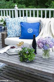 Patio Decor by Outdoor Lounge How One Piece Can Pull Your Patio Decor Together