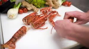 cuisiner un homard vivant plonger un homard vivant dans l eau bouillante fini