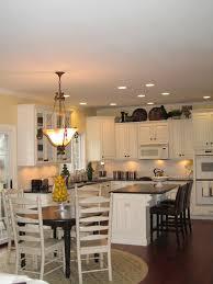 kitchen design ideas dining room table lighting trellischicago l