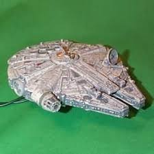 hallmark ornament wars millennium falcon lighted