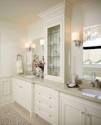 splashy quoizel in bathroom traditional with white vanity next to