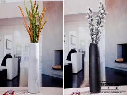decorative glass vases living room ceramic flower vase set of 3 decorative large vases