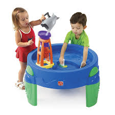 step 2 waterwheel play table toys