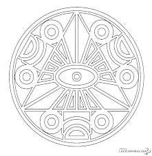 136 dessins de coloriage mandala à imprimer
