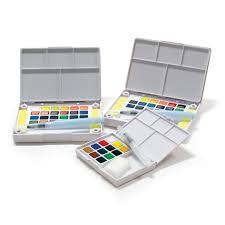 koi watercolor pocket field sketch box sets by sakura cheap