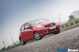 2016 honda brio facelift review test drive motorbeam